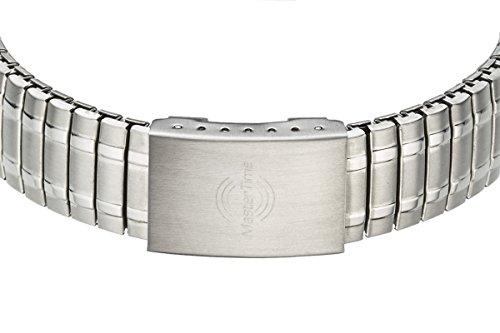 Master Time Funk Quarz Damen Uhr Analog-Digital mit Edelstahl Armband MTLA-10492-32M - 3