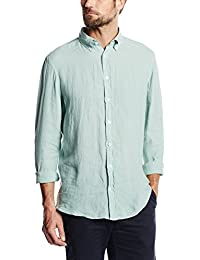 Hackett London GMT DYE Linen S, Camisa para Hombre
