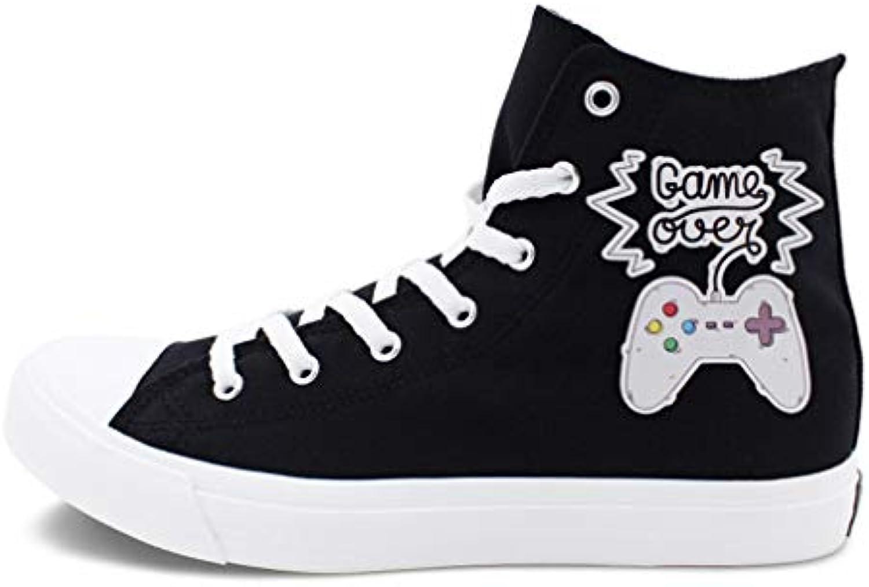 YAN Lovers scarpe Flat scarpe Game Handle Design Comfort Classico Traspirante Scarpe di Tela Moda Scarpe da Ginnastica...   Modalità moderna    Uomo/Donne Scarpa