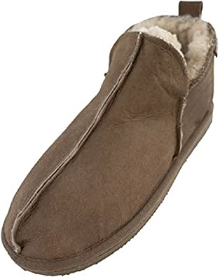 LADIES SHEEPSKIN BOOTEE SLIPPER (3(EUR0 36))