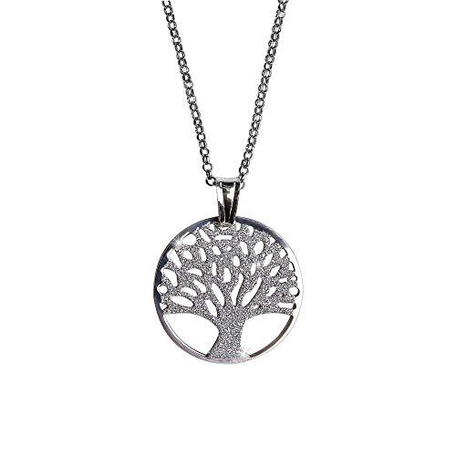 Principio® - collana donna albero della vita argento 925 - made in italy - gioielli ragazza originale regolabile con bella confezione regalo