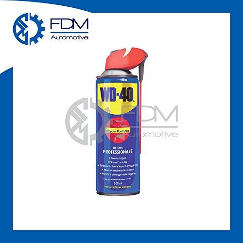 Dégrippant aérosol anticorrosivo et lubrifiant WD-4039034–Spray Double Position 500ml