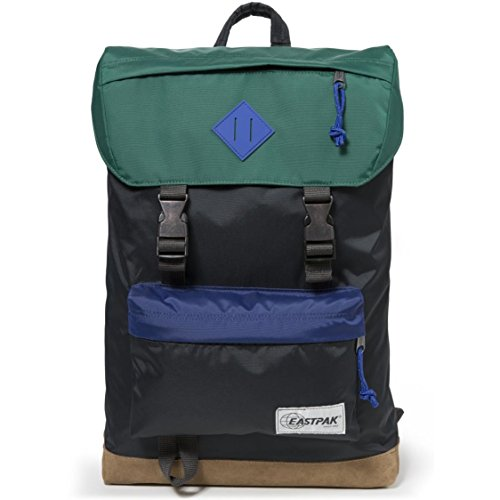 EASTPAK ROWLO EK946 INTO BLACK ZAINO Unisex Adulto e Junior Into Nylon Bloc