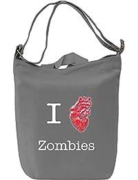 I love zombies warm bodies Bolsa de mano D'a Canvas Day Bag| 100% Premium Cotton Canvas Fashion