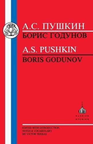 Portada del libro Pushkin: Boris Godunov (Russian Texts) by Aleksandr Sergeevich Pushkin (1998-04-24)
