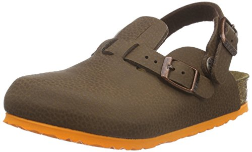 Birkenstock Kids Unisex-Kinder Kay Clogs, Braun (Desert Soil Brown), 30 EU