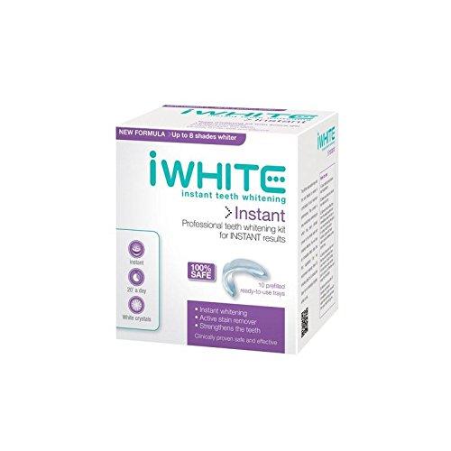 Iwhite Dents Professionnelles Instantanées Kit De Blanchiment (10 Plateaux)