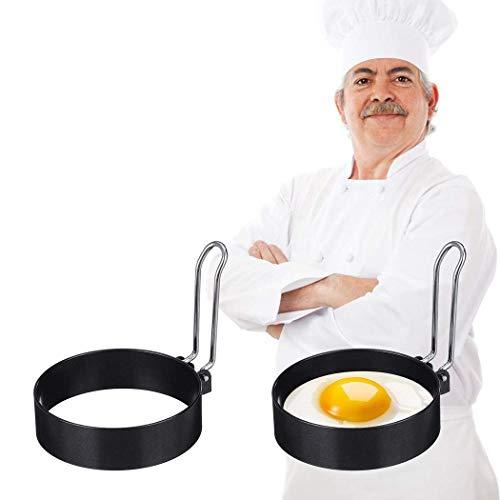 Attrezzi da Cucina forma Uovo Fritto Tondo antiaderente