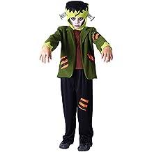 Frankenstein - Disfraz de monstruo infantil, talla M (5 - 7 años) (CC768)