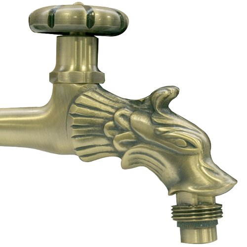 Wasserhahn für Brunnen Zimmerbrunnen verziert für Garten Außen röntgenstrahlenbes