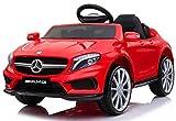 Macchina ElettricaCaratteristiche Tecniche Macchina Elettrica per Bambini 12V Mercedes GLA 45 AMG Rossa12V / 4.5AComando a pedale elettricoTelecomando a quattro vie 2.4GVolante multifunzionale con effetto musicaleMP3 e presa USBPorte apribili...