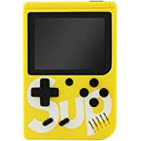 Buddymate Portable Handheld Video Game Console for Unisex Kids Playing Continuously 6hrs and Enjoy with 400 Games & 3…