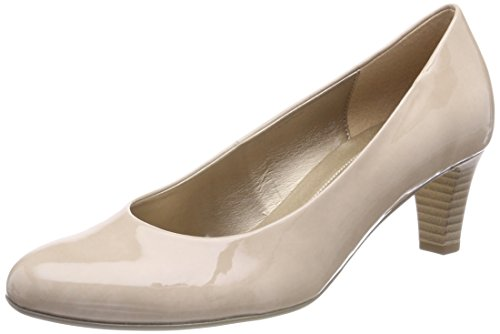 Gabor Shoes Damen Basic Pumps, Beige (Sand), 40.5 EU