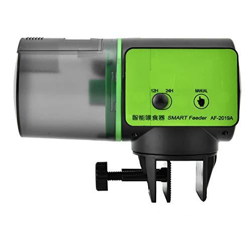 Chargeur Automatique de Poissons Chargeur Intelligent pour Aquarium Réservoir de Poissons Unité d'alimentation Automatique Distributeur d'aliments pour Poissons Minuterie d'alimentation(AF-2019B)