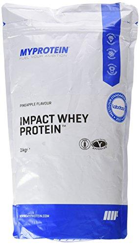 MyProtein Impact Whey Proteína de Suero, Sabor Piña - 1000 gr