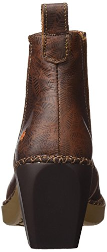 Art Damen Madrid Kurzschaft Stiefel Braun (Fantasy Leaves)