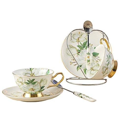 china-de-hueso-de-ceramica-2-juegos-taza-de-te-taza-de-cafe-camelia-blanco-y-verde