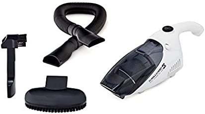 Eureka Forbes 100-Watt Car Vaccum Cleaner (White and Black)