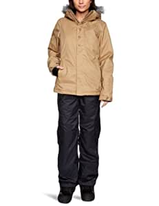 O'Neill Women's Seraphine Snow Jacket  -  Tobacco Brown, X-Large