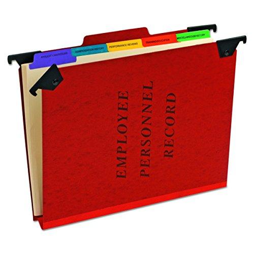 Pendaflex Aufhängen Mitarbeiter/Personal Ordner, Brief Größe, Rot, je (ser-2-er) (Pendaflex Brief)