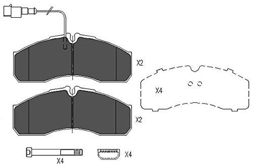 Preisvergleich Produktbild Kavo Parts KBP-6591 Bremsklotz