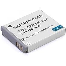 Rusty Bob - Canon NB-6L (1200 mAh) ELPH 500, PowerShot D10, S90, S95, SD1200, SD1300, SD3500, SD4000, SD770, SD980 - solo batteria