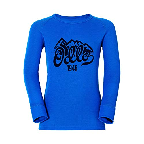 Odlo Trend Shirt Warm Kids Directoire Blue | 07613273799309