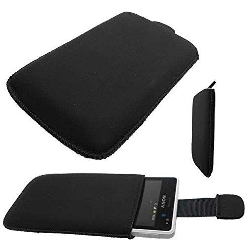 caseroxx Slide-Etui Handy-Tasche für Sony Xperia Go aus Neopren, Handy-Hülle in schwarz