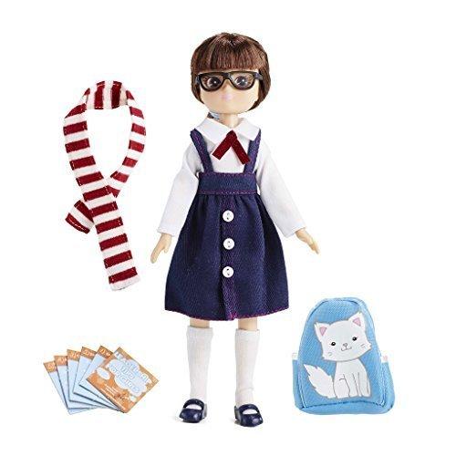 Puppe Lottie LT058 School Days - Puppen Zubehör Kleidung Puppenhaus Spieleset - ab 3 Jahren (Disney Barbie-puppen Junge)