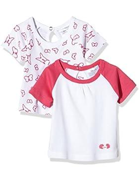 Twins Baby-Mädchen T-Shirt, 2er Pack
