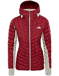 THE NORTH FACE Thermoball Gordon Lyons Hybrid Hoodie Women Rabbit  Grey Misty Rose Heather 2018 0173f16ecd