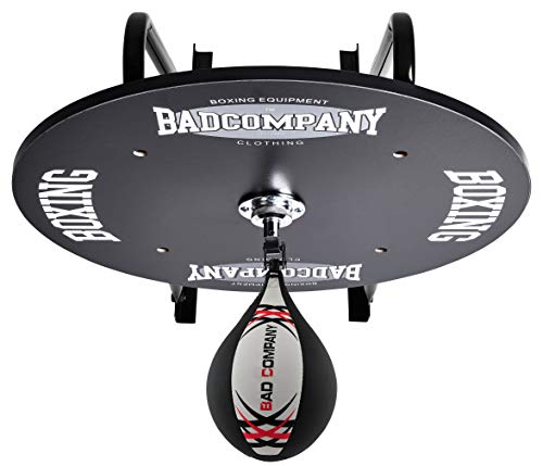 Bad Company Speedball Plattform mit Boxbirne medium zur Wandmontage I BCA-130 -