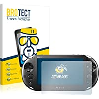 BROTECT AirGlass Pellicola Vetro Flessibile Chiaro per Sony PCH-2000-Serie PlayStation PS Vita Slim Touchpad Proteggi Schermo, Vetro Protettivo - Extra-Resistente, Ultra-Leggero