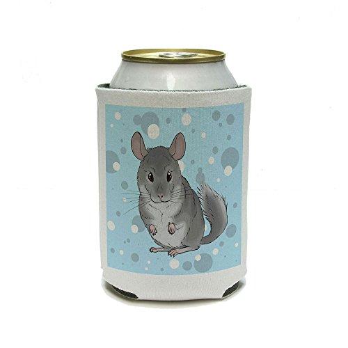 chinchilla – mignon petit animal Peut Cooler – Boisson isolant – Boisson isotherme support