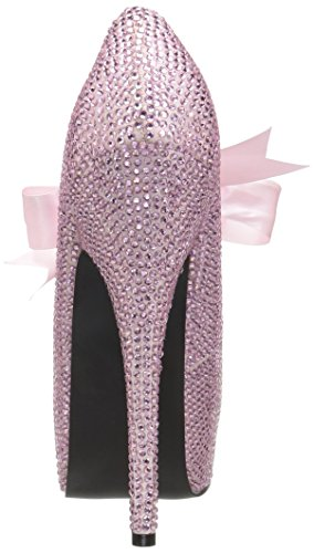 Pleaser Tee04r/bp, Damen Plateau Pumps Pink (Baby Pink)