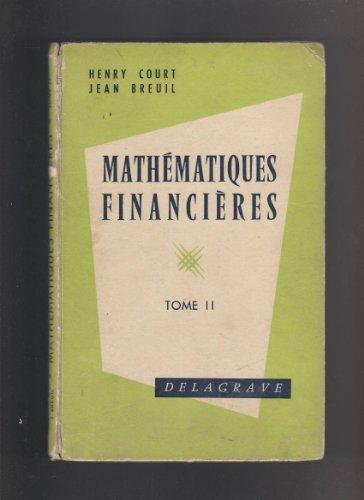 Mathématiques financières et compléments d'...