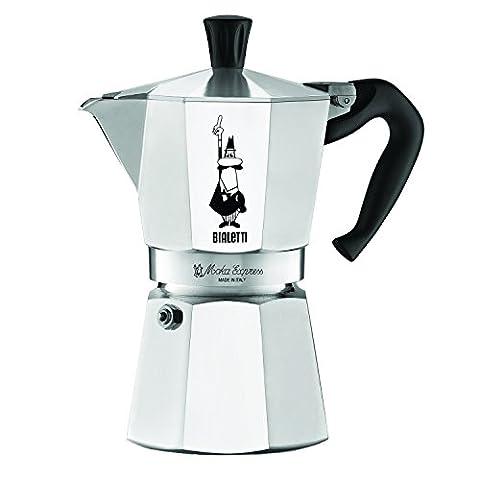 Bialetti Espresso Machine Stovetop Coffee Pot Latte Maker Moka Express 10 ounce