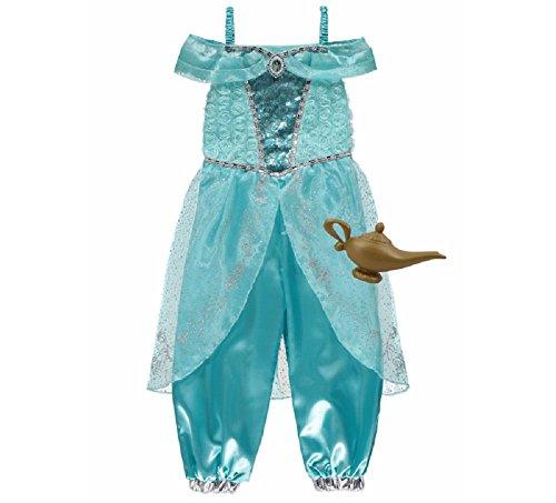New George Disney Princess Jasmine Kids Girls Fancy Dress Outfit Kostüm [7–8]...