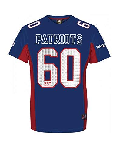 Majestic Mesh Polyester Jersey Shirt - New England Patriots (New England Patriots Trikot Jersey)