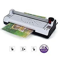 آلة تصفية سريعة للاستخدام المنزلي الساخنة والباردة، آلة تصفيح المكتب للاستخدام المنزلي، آلة تغليف 2 أسطوانة نظام تشذيب دوار، أداة دوارة