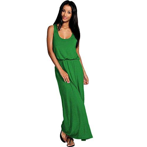 Urban Diva - Robe spécial grossesse - Sans Manche - Femme noir * taille unique green