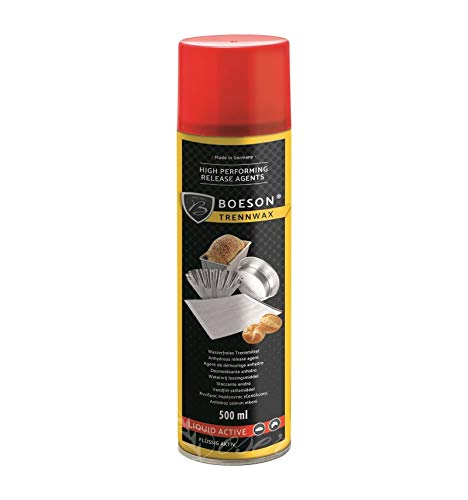 Spray STACCANTE per TEGLIE STAMPI Alimentare Professionale 500 ML Marca BOESON