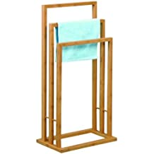 Bamboo Towel Rack Bathroom - 42 x 24 x 81,5cm by TP-Products