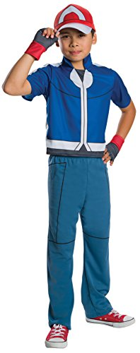 Rubie's Costume Pokemon Ash Deluxe Child Costume, Large by Rubie's Costume ()