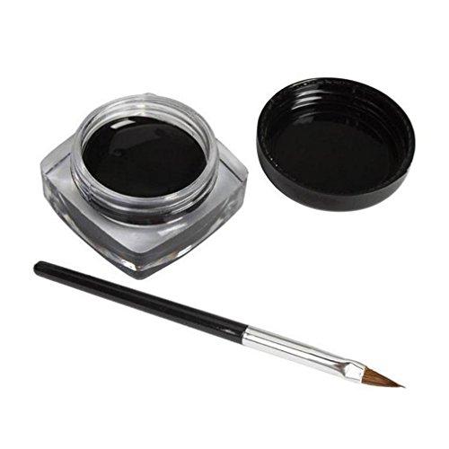 2-pcs-mini-eyeliner-geltefamore-cream-with-brush-makeup-cosmetic-black-life-waterproof