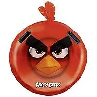 Redondo Hinchable Colchón de aire con 2 Manijas / Aufblasrider / Tabla de surf / Surfrider Angry Birds Pájaro en rojo Aprox. 108 cm