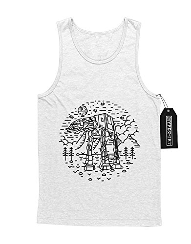 "Tank-Top Star Wars ""HIPSTER AT-AT"" H23196 Weiß"