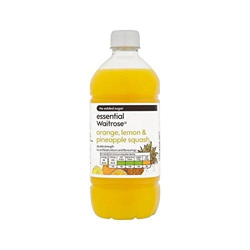 Arancio, Limone E Ananas Doppia Resistenza Zucca Waitrose Essenziale 750Ml