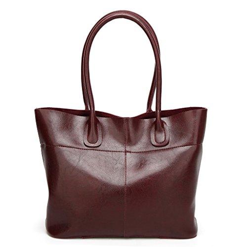 Bag Salon-UK, Borsa a tracolla donna, Red (rosso) - L302 Blue
