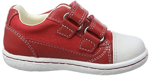 Geox B Flick Boy C, Chaussures Marche Bébé Garçon Rouge (REDC7000)
